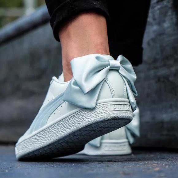 Puma Shoes   Puma Bow Leather Fashion